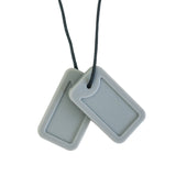 Dog Tags - Atlas (Light Grey Matte)