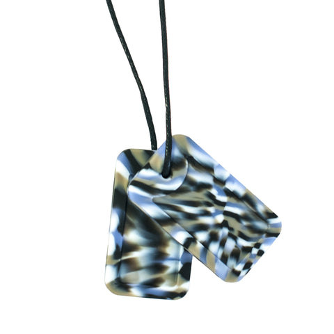 Dog Tags - Artemis (Blue/Tan/Black/White Camo)