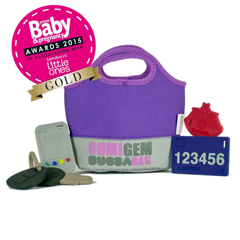 Bubba Bag - Teething Products - Purple