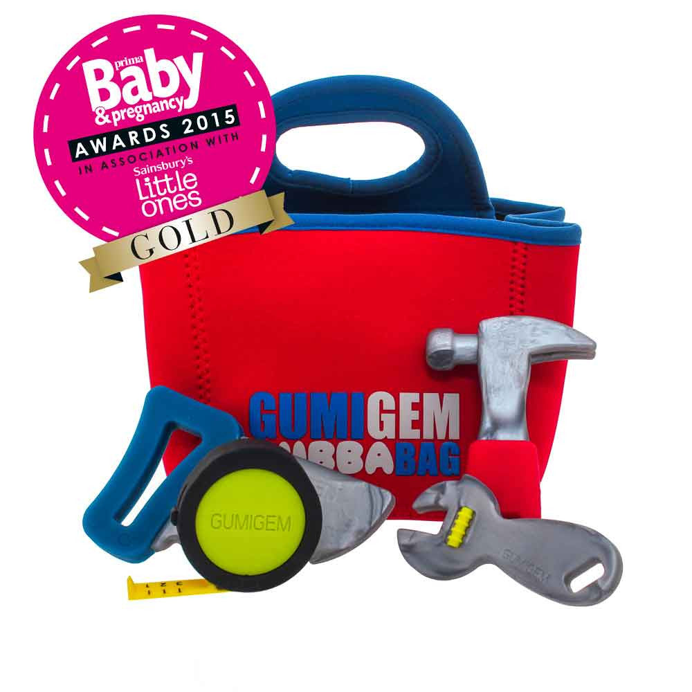 Bubba Bag - Teething Products - Red Tool Bag
