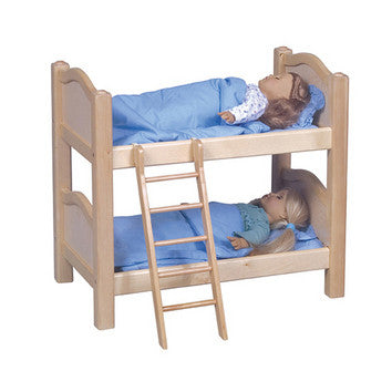 Guidecraft Doll Bunk Bed Natural - G98116