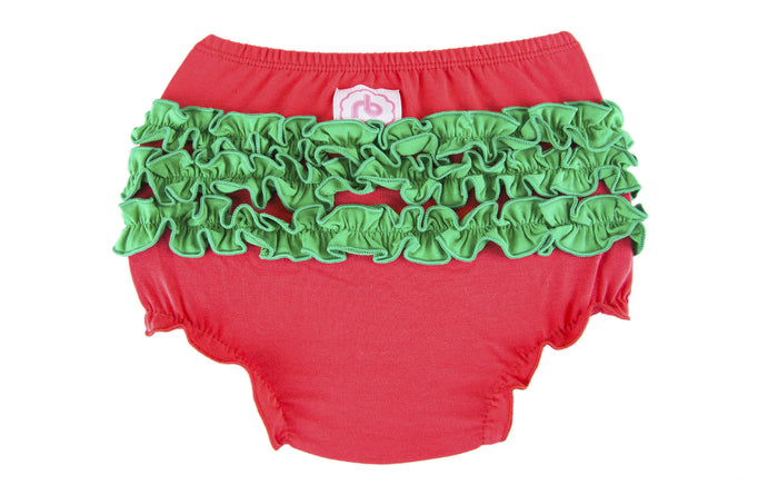 Ruffle Buns Diaper Cover - Holly