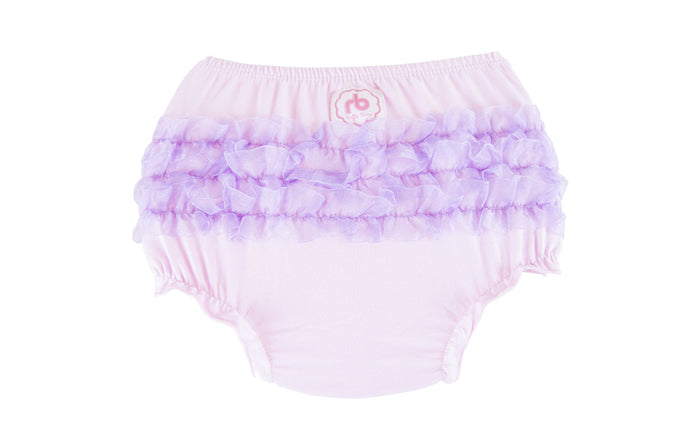 Ruffle Buns Diaper Cover - Lotus