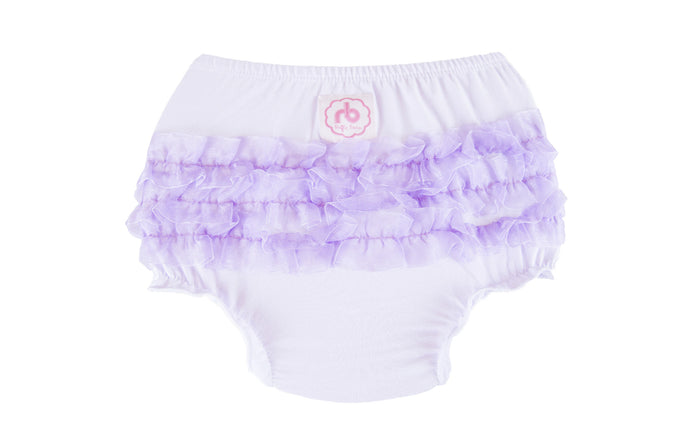 Ruffle Buns Diaper Cover - Jelly Bean