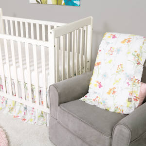 Trend Lab® - Wildflowers - 3 Piece Crib Bedding Set