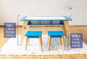 Wildkin - Arts & Crafts Table (Blue)