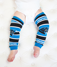 Baby Leggings - Carolina Panthers