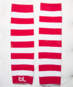 Baby Leggings - Candy Cane