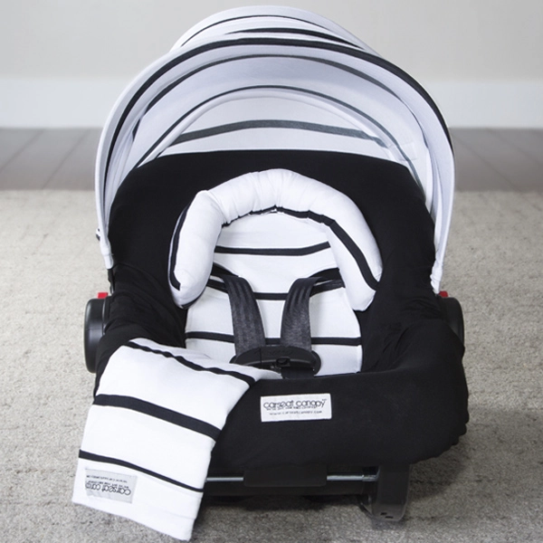 Canopy Couture - Black Stripes Whole Caboodle