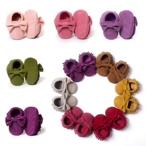 Little Wanderers - Baby Bow Moccasins