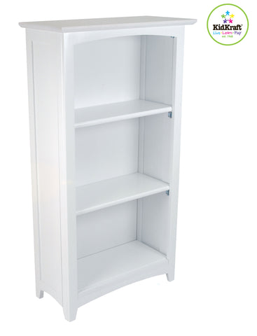 KidKraft Avalon Tall Bookshelf - White - 14001 -  Kid Kraft Pretend Play - Nurzery.com