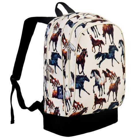 Horse Dreams Sidekick Backpack - 14071 -  Olive Kids Backpacks - Nurzery.com