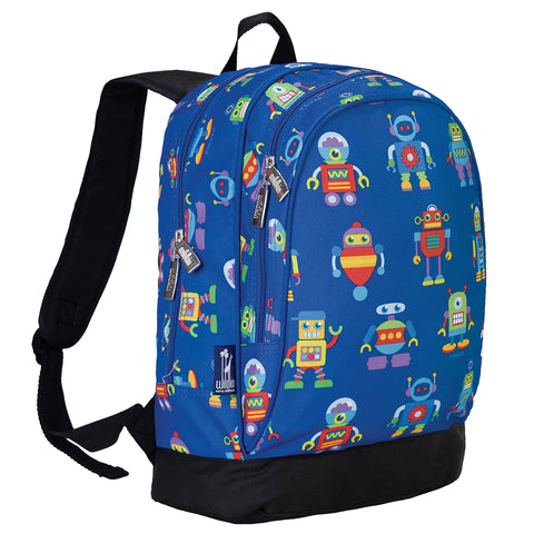Olive Kids Robots Sidekick Backpack - 14112 -  Olive Kids Backpacks - Nurzery.com