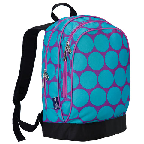 Big Dot Aqua Sidekick Backpack - 14119 -  Olive Kids Backpacks - Nurzery.com