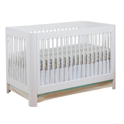 Sorelle Chandler Spindle Crib White 705 -  Sorelle All Cribs - Nurzery.com