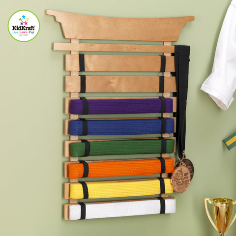 KidKraft Martial Arts Belt Holder - 14245 -  Kid Kraft Pretend Play - Nurzery.com