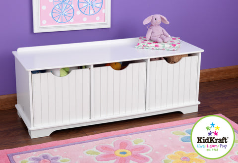KidKraft Nantucket Storage Bench - 14564 -  Kid Kraft Pretend Play - Nurzery.com