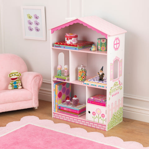 KidKraft Dollhouse Cottage Bookcase - 14604 -  Kid Kraft Pretend Play - Nurzery.com