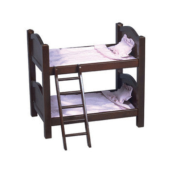 Guidecraft Doll Bunk Bed Espresso - G98117 - Default Title Guidecraft Toys - Nurzery.com