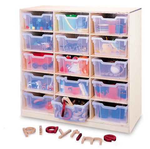 Whitney Brothers 15 Tray Storage Cabinet WB0915T -  Whitney Bros Storage Cabinet - Nurzery.com