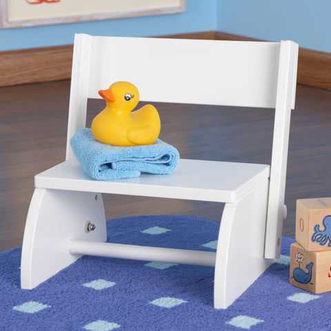 KidKraft Flip Stool - White - 15301 : duck step stool - islam-shia.org