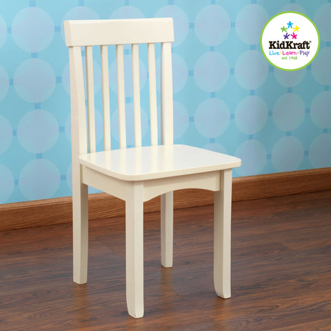 KidKraft Avalon Chair - Vanilla - 16634 -  Kid Kraft Pretend Play - Nurzery.com - 1
