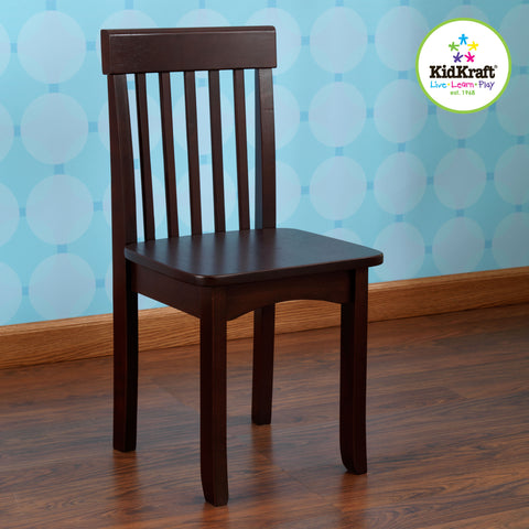KidKraft Avalon Chair - Espresso - 16650 -  Kid Kraft Pretend Play - Nurzery.com - 1