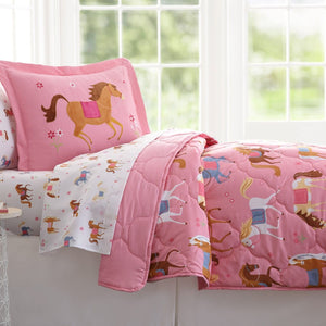 Olive Kids - Horses 7 pc Microfiber Bed in a Bag (Full) - 16696