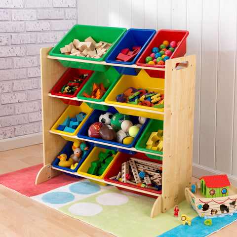 KidKraft Sort it & Store it Bin Unit (bins included) - 16774 -  Kid Kraft Pretend Play - Nurzery.com