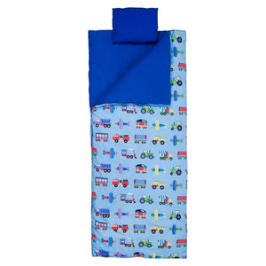 Wildkin - Trains, Planes & Trucks Original Sleeping Bag - 17079