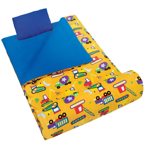 Olive Kids Under Construction Sleeping Bag - 17110 -  Olive Kids Sleeping Bags - Nurzery.com