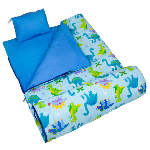 Olive Kids Dinosaur Land Original Sleeping Bag - 17408 -  Olive Kids Sleeping Bags - Nurzery.com