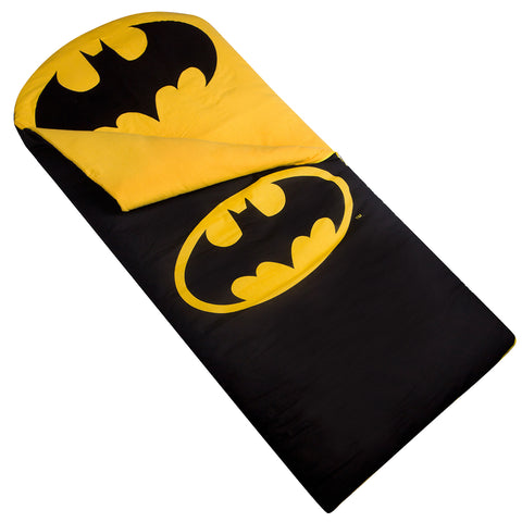 Batman Emblem Sleeping Bag - 17468 -  Olive Kids Sleeping Bags - Nurzery.com