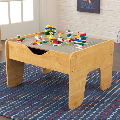 KidKraft Activity Play Table - Gray & Natural - 17506 -  Kid Kraft Pretend Play - Nurzery.com