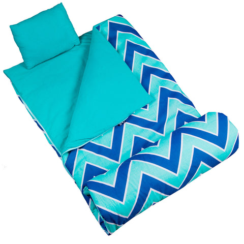 Olive Kids Zigzag Lucite Original Sleeping Bag - 17551 -  Olive Kids Sleeping Bags - Nurzery.com