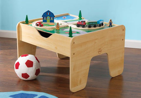 KidKraft 2 in 1 Activity Table with Board - 17576