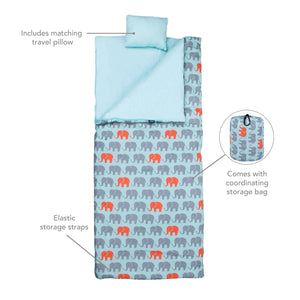 Wildkin - Elephants Original Sleeping Bag - 17802