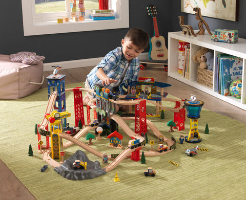 KidKraft Super Highway Train Set Only - 17809 -  Kid Kraft Pretend Play - Nurzery.com