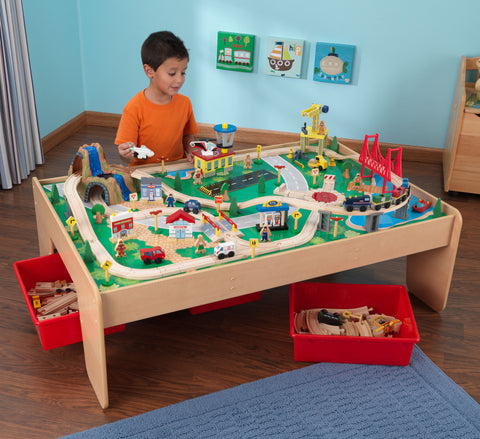 KidKraft Waterfall Mountain Train Set and Table - 17850 -  Kid Kraft Pretend Play - Nurzery.com - 1
