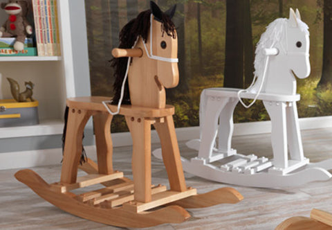 KidKraft Derby Rocking Horse   White   19601Rocking Horses   Nurzery com. Kidkraft Rocking Chair Cherry. Home Design Ideas