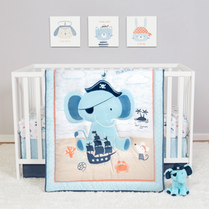 Sammy & Lou® - Ahoy Archie - 4 Piece Crib Bedding Set