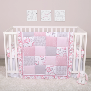Sammy & Lou® - Emma - 4 Piece Crib Bedding Set