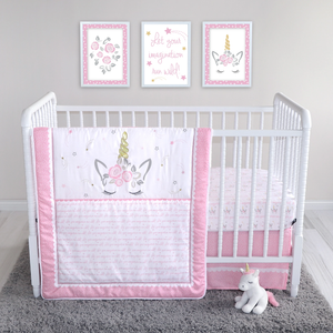 Sammy & Lou® - Mystical Dreams - 4 Piece Crib Bedding Set