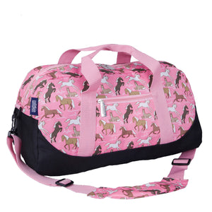 Wildkin - Horses in Pink Overnighter Duffel Bag - 25020