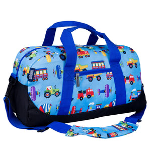 Wildkin - Trains, Planes & Trucks Overnighter Duffel Bag - 25079