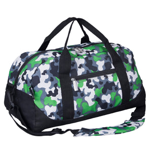 Wildkin - Green Camo Overnighter Duffel Bag - 25088