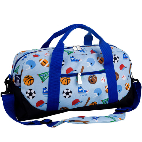 Olive Kids Game On Overnighter Duffel Bag - 25406 -  Olive Kids Duffel Bags - Nurzery.com