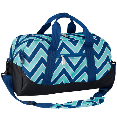 Zigzag Lucite Overnighter Duffel Bag - 25551 -  Olive Kids Duffel Bags - Nurzery.com