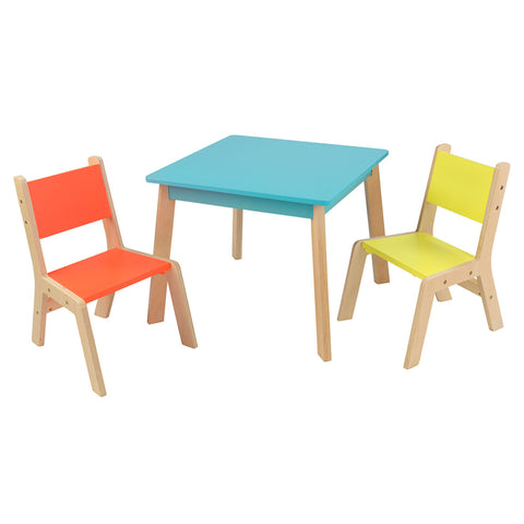 KidKraft Highlighter Modern Table & Chair Set - 26322 -  Kid Kraft Pretend Play - Nurzery.com - 1