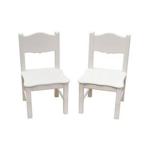 Guidecraft Classic White Extra Chairs - G85703 - Default Title Guidecraft Toys - Nurzery.com